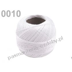 KORDONEK nici Perlovka NITARNA 60x2 10g/85m - biały