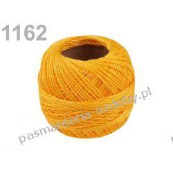 KORDONEK nici Perlovka NITARNA 60x2 10g/85m - ciemny żółty Przedmioty do ozdabiania