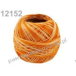 KORDONEK nici Perlovka NITARNA 60x2 10g/85m - cieniowany pomarańczowy Akrylowe