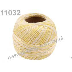 KORDONEK nici Perlovka OMBRE NITARNA 60x2 10g/85m - 11032 cieniowany jasny żółty