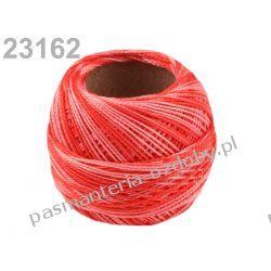 KORDONEK nici Perlovka OMBRE NITARNA 60x2 10g/85m - cieniowany różowo-czerwony Koraliki i cekiny