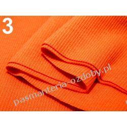 Ściągacz elastyczny bawełna 16x80cm - pomarańczowy