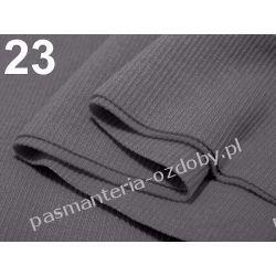 Ściągacz elastyczny bawełna 16x80cm - szary