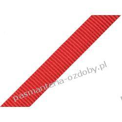 TAŚMA PARCIANA, NOŚNA 20mm (do toreb itp) 1m - czerwona