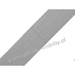 TAŚMA PARCIANA, NOŚNA 20mm (do toreb itp) 1m - szara
