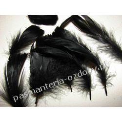 PIÓRA, PIÓRKA DEKORACYJNE 10g ok. 200szt czarne