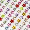 DŻETYKryształki Kwiatki 12mm Mix Kolorów 66 szt