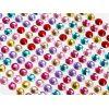 DŻETY Kryształki 8mm Mix Kolorów 120szt