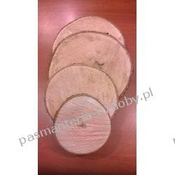 PLASTER DREWNA, KRĄŻEK DREWNIANY 11-12cm/2,5cm