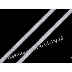 GUMA / GUMKA PŁASKA BIAŁA 3-4 mm / 1m (maseczkowa, miękka)