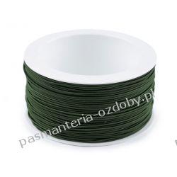 GUMA / GUMKA okrągła 1,2mm / 50m - ciemny zielony
