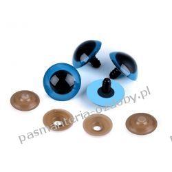 Bezpieczne oczy do zabawek z zatyczką Ø26 mm - niebieskie