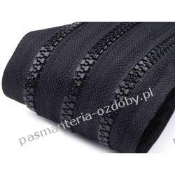 Taśma suwakowa kostkowa 5mm - czarna