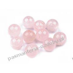Koraliki Różenin - naturalny minerał kwarc -  Ø10 mm