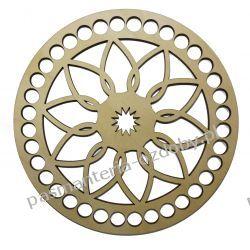 BAZA DO KOSZYKA / TOREBKI wzór średnica 15 cm , otwory 10mm