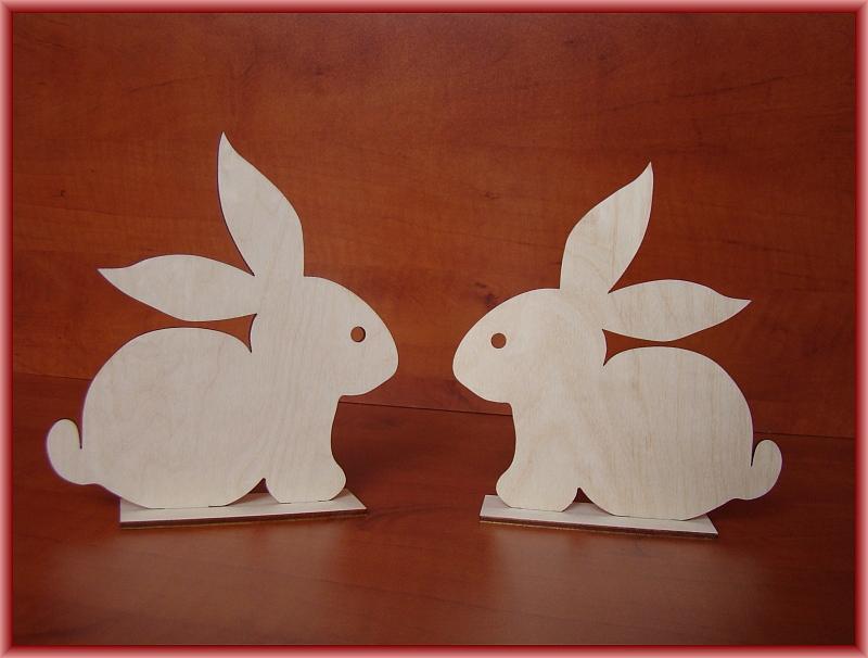 Decoupage Wielkanoc Zając Wz 1 Na Podstawce Wielkanoc