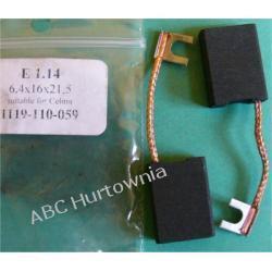 Szczotki węglowe kpl. 6,4x16x21 (E1.14)