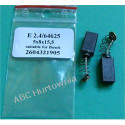 Szczotki węglowe kpl. 5x8x15,5 (E2.4)