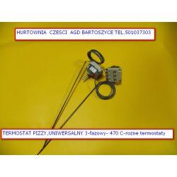TERMOSTAT PIECA ,PIEC PIZZY PIZZA 0-470 C - 3 FAZOWY -ROZNE TERMOSTATY-WSZYSTKIE