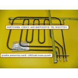 GRZALKA PIEKARNIKA NARDI PODWOJNA MOC 2400WAT-  modele FRV409BC-3 Nardi FRV409R Nardi- -PYTAJ JAKA CHCESZ-PODESLIJ ZDJECIE -rozne wszystkie grzalki piekarnikow