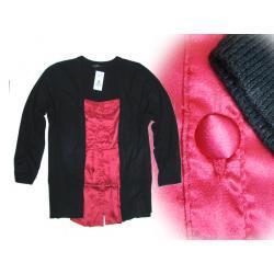 EVANS zjawiskowy swetr koszula 2w1 58/60