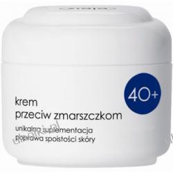 ZIAJA Kremy 40+, Półtłusty krem przeciwzmarszczkowy z witaminą C na dzień i na noc, cera dojrzała 50 ml