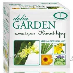 DELIA Garden, Kwiat lipy, Lekki krem nawilżający na dzień i na noc, cera sucha, odwodniona, 50 ml