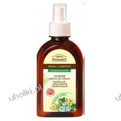 GREEN PHARMACY, Eliksir ziołowy do włosów łamliwych, zniszczonych i farbowanych, 250 ml