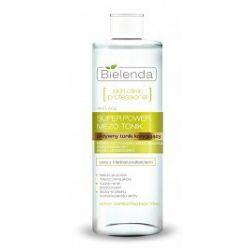 BIELENDA Skin Clinic Professional, Aktywny tonik korygujący ANTI-AGE, cera mieszana, tłusta, 200 ml...