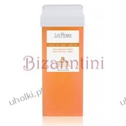 LA ROSA Fruit oil wax, owocowy wosk do depilacji z szeroką rolką, łagodzący podrażnienia
