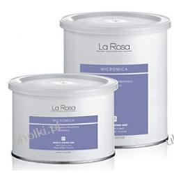 La Rosa, Micromica wosk do depilacji w puszce, do mocnych i krótkich włosów, 800 ml