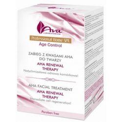 AVA Professional Home SPA, Zabieg z kwasami AHA do twarzy AHA Reneval Therapy, cera potrądzikowa, z przebarwieniami...
