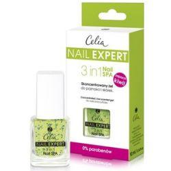 CELIA Nail Expert, Skoncentrowany żel do paznokci i skórek 3 in 1 NAIL SPA, 10 ml...