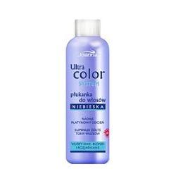 JOANNA Ultra Color System, Płukanka niebieska do włosów siwych, blond i rozjaśnianych 130 ml...