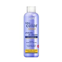 JOANNA Ultra Color System, Płukanka srebrna do włosów siwych, blond i rozjaśnianych 130 ml...