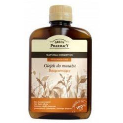 GREEN PHARMACY, Rozgrzewający olejek do masażu ciała, 200 ml...