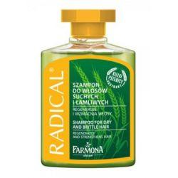 FARMONA Radical, Szampon wzmacniający, włosy suche, łamliwe, osłabione, 300 ml...