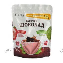 Gorąca Czekolada ze Stewią (Stevia) Amaretto, 100% Naturalna, 150 g Szampony i żele