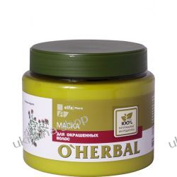 O'Herbal Maska do Włosów Farbowanychz Ekstraktem z Tymianku, 500 ml Maski do włosów