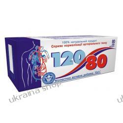 """""""120/80"""" (Dihydroquercetin (taxifolin), Magnez, L-karnityna, Głóg, Witaminy A,E,C), 80 tab.- NADCIŚNIENIE, MIAŻDŻYCA"""