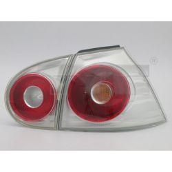 LAMPA TYL VW GOLF V LAMPY KOMPLET CLEAR 4SZT