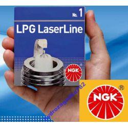 SWIECE ZAPLONOWE NGK LASER LINE 6 LPG GAZ DO GAZU