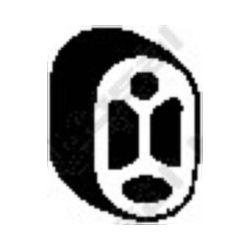255-028 BSL 255-028 WIESZAK TLUMIKA CITROEN , PEUGEOT GUMOWY BOSAL CZESCI MONTAZOWE BOSAL [848941]...