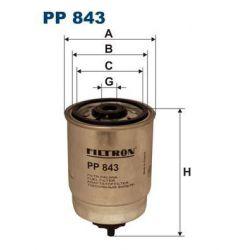 PP 843 F PP843 FILTR PALIWA CITROEN FIAT OPEL PEUGOT RENAULT SZT FILTRY FILTRON [850024]...