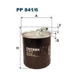 PP 841/6 F PP841/6 FILTR PALIWA MERCEDES VITO SZT FILTRY FILTRON [853808]...