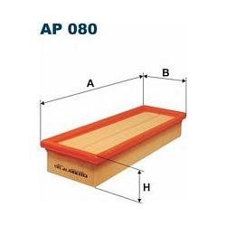 AP 080 F AP080 FILTR POWIETRZA PEUGEOT 306 1,8 2,0 405 1,8 CLIO SZT FILTRY FILTRON [854936]...