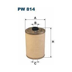 PW 814 F PW814 FILTR PALIWA MERCEDES TRUCKS 405D 408D 709D 809D PA SZT FILTRY FILTRON [855893]...
