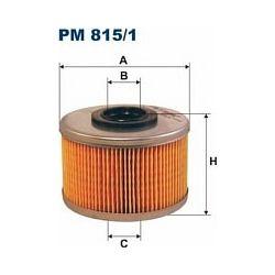 PM 815/1 F PM815/1 FILTR PALIWA RENAULT CLIO II 1,9D 88-KANGOO 1,9D SZT FILTRY FILTRON [856661]...
