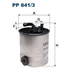 PP 841/3 F PP841/3 FILTR PALIWA MERCEDES SPRINTER 211CDI SZT FILTRY FILTRON [863657]...