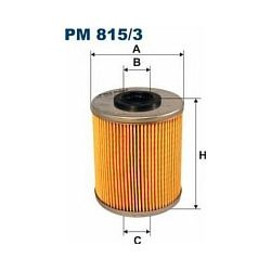 PM 815/3 F PM815/3 FILTR PALIWA NISSAN PRIMASTAR 1.9 02- OPEL VIVARO RENAULT MASTER III/TRAFIC III 01- SZT FILTRY FILTRON [864490]...